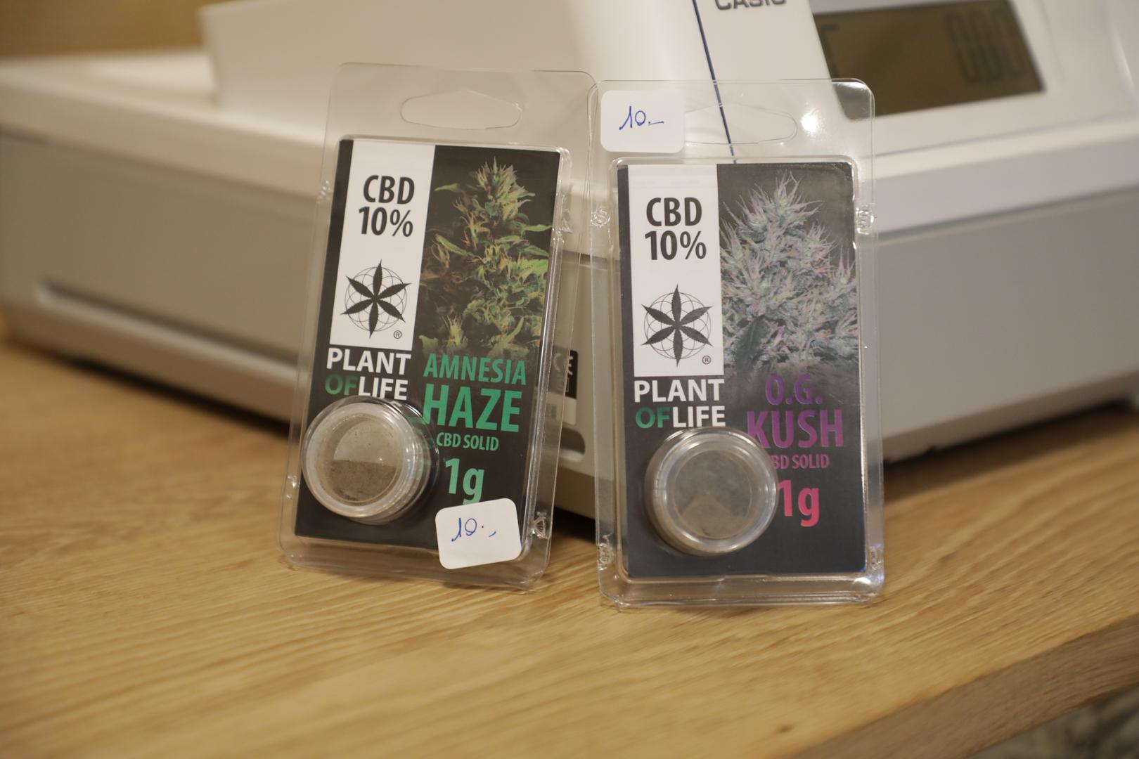 Arlon : la boutique de cannabis (CBD) contrôlée par la police !